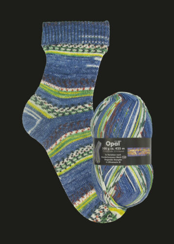 II u III Opal Hundertwasser I von 9,38 EUR bis 11,20 EUR//100g Sockenwolle