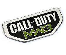 3D Metal Car Auto Emblems Decal Badge Sticker for Call Duty of NEW MW3 mopar hot