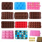 Silicone Ice Cube Tray Chocolate Cake Mold Candy Cookie Jelly Mould Pudding Tool
