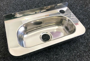 NEW-3-Monkeez-Stainless-Steel-Compact-Hand-Basin-HBC