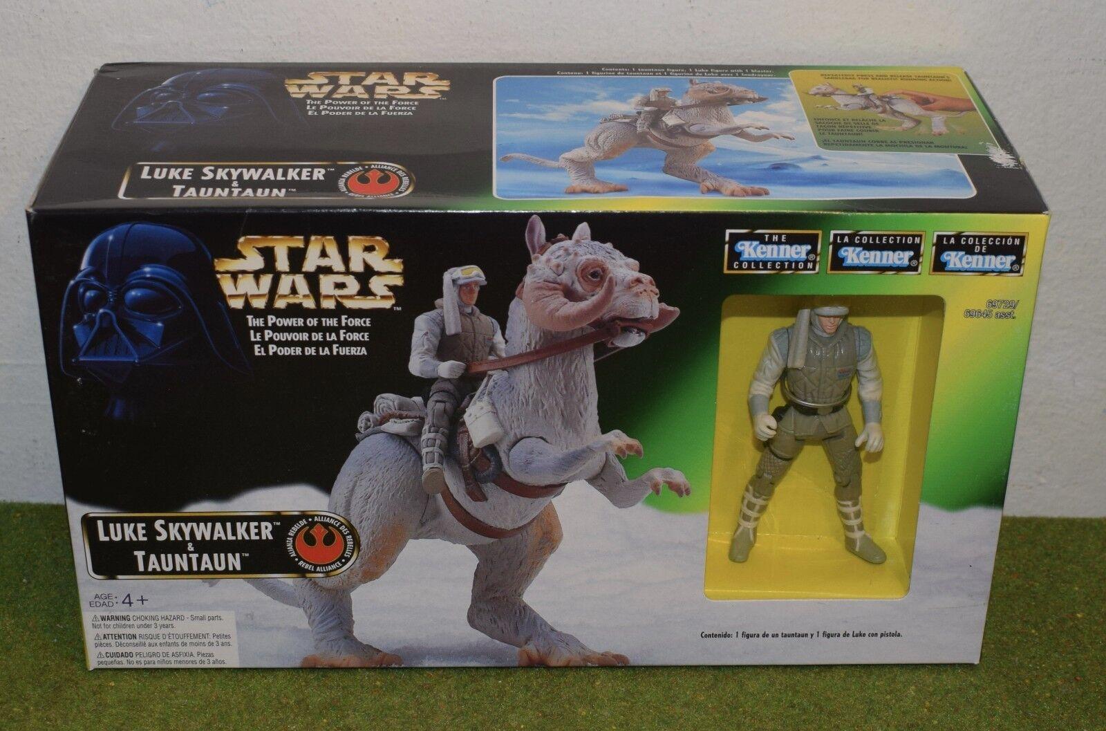 Star - wars - macht der truppe luke skywalker & tauntaun