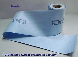PCI-Pecitape-Objekt-Dichtband-1m-Ablaenge-Meterware-Abdichtung-Lastogum-Seccoral