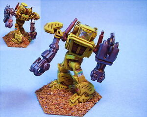 Details about Mechwarrior painted Construction mech #1 suitable for  Battletech