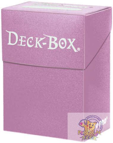 Ultra Pro deck box pink card holder Mtg WoW Yugioh Pokemon