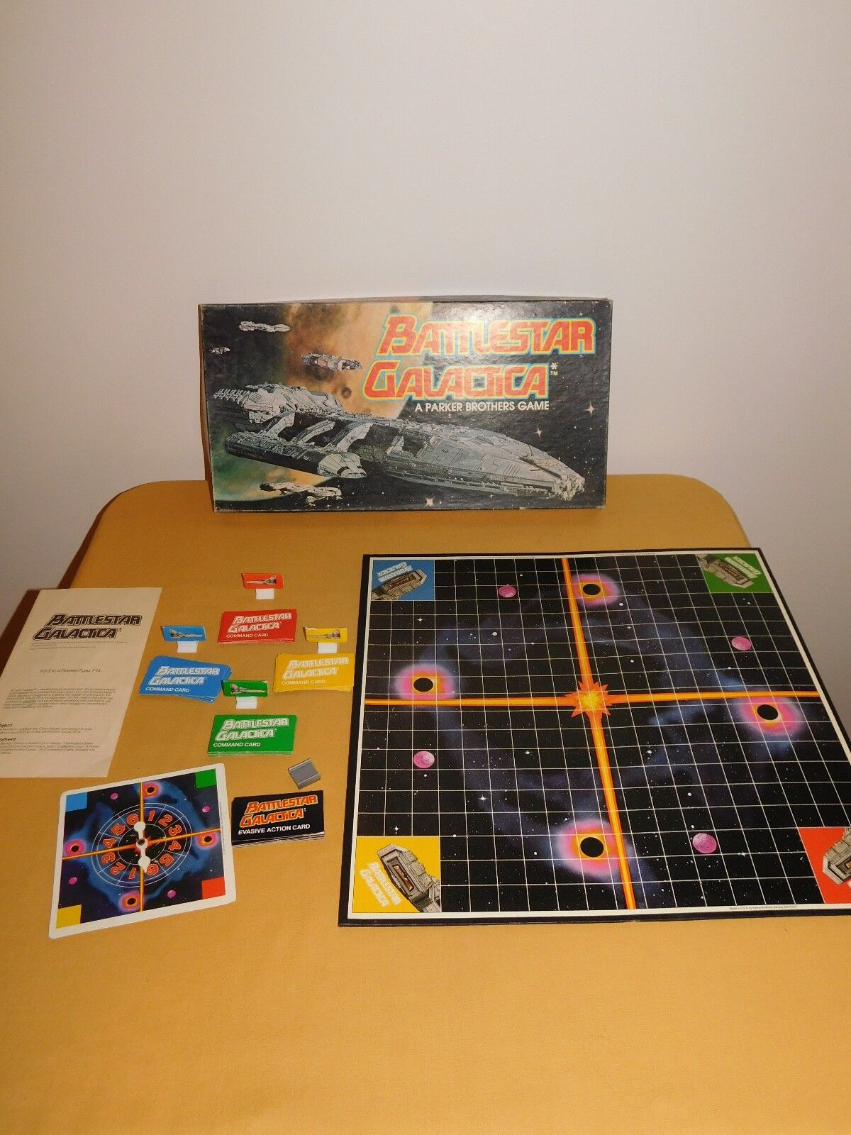 VINTAGE TOY SPACE 1978 PARKER BROTHERS BATTLESTAR GALACTICA BOARD GAME