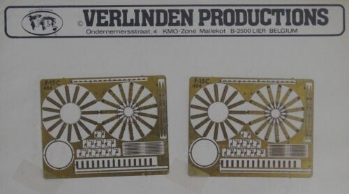 VERLINDEN PRODUCTIONS #464 Tailpipes for F-15C in 1:72