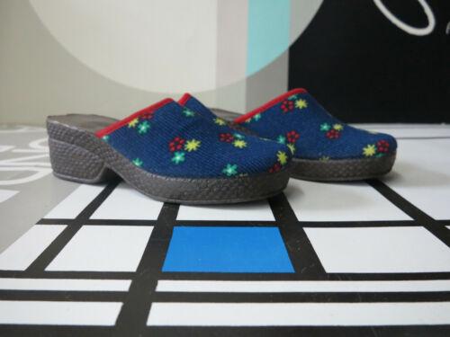 True Plateau 70er Nos 37 Women's Vintage Pantolette 70s Shoes Damen Clogs Ovp 80ZnwNPkOX