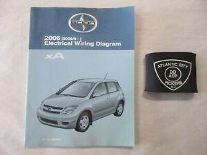 2006 TOYOTA SCION XA (2006/9 - ) ELECTRICAL WIRING DIAGRAM ...