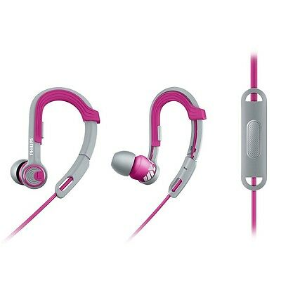 Philips SHQ3305PK ActionFit Sports headphones with mic SHQ3305 Pink