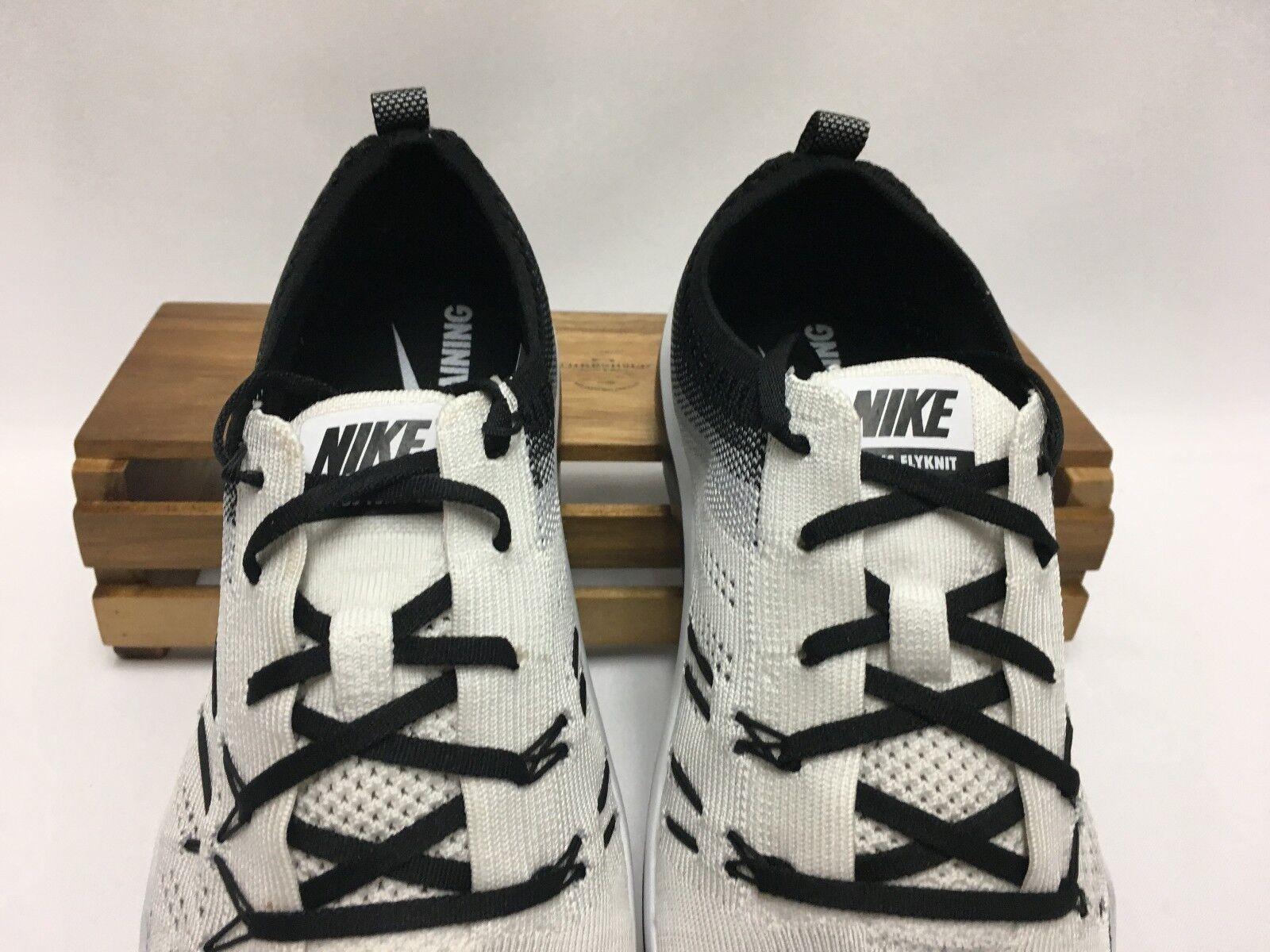 Nike Free TR Focus Flyknit Running Shoes White Black NEW Oreo 844817-102 Women's NEW Black 50c9aa
