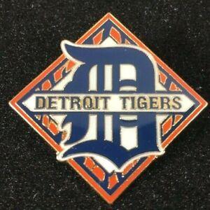 RARE-2000-Detroit-Tigers-MLB-Baseball-Metal-Pin-Comerica-Park-Inaugural-Year