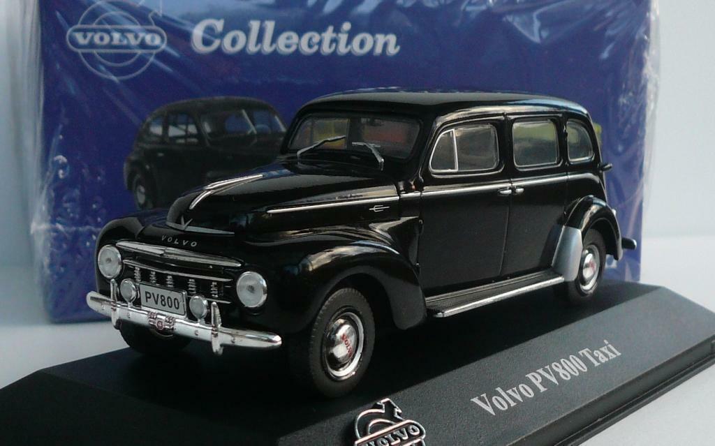 bajo precio del 40% Maravilloso Atlas-MODELCoche Volvo PV800  Taxi  (se) 1951-Negro 1951-Negro 1951-Negro - 1 43 - Ed. Lim.  contador genuino