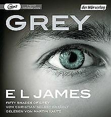Grey-Fifty-Shades-of-Grey-von-Christian-selbst-erzaehlt-Buch-Zustand-gut