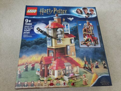 Attack on the Burrow New Sealed FAST SHIPPING LEGO 75980 Harry Potter