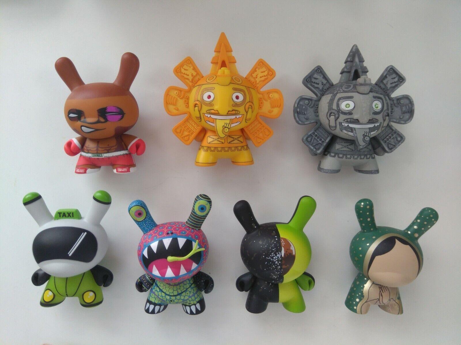 Kidrobot DUNNY 3  VINYL ART FIGURES Azteca II 2 Series, Calendario Chase mexican
