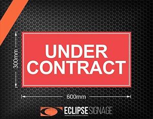 Under-Contract-600x300-Self-Adhesive-Stickers