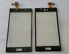 Pantalla Táctil Digitalizador cristal Flex negro Black para LG Optimus l7 p700 p705