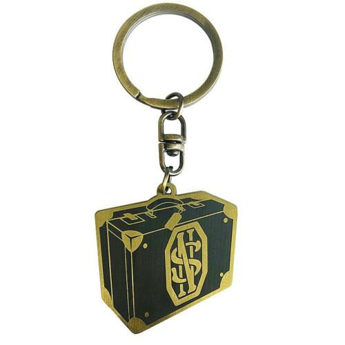 Schlüsselring Fantastic Beasts Schlüsselanhänger Newt Scamander Koffer Metall