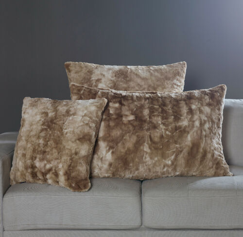 Heavy and Oversized NEW Brielle Faux Fur Throws and Blankets