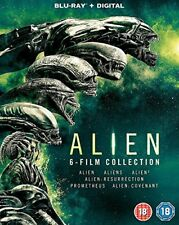 Alien: 6-Film Collection [Blu-ray] [2017] [DVD][Region 2]