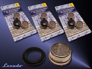 Freundschaftlich 6x Ersatzeinsätze Wasserhahn Luftsprudler Filter Wasserfilter Perlator 1/2 Zoll Elegantes Und Robustes Paket Waschtisch