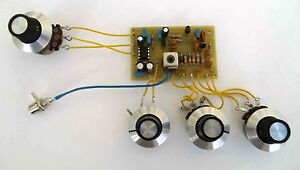 Single-Band-SW-Regenerative-Receiver-PCB-kit-and-controls-Made-in-Dorset-UK