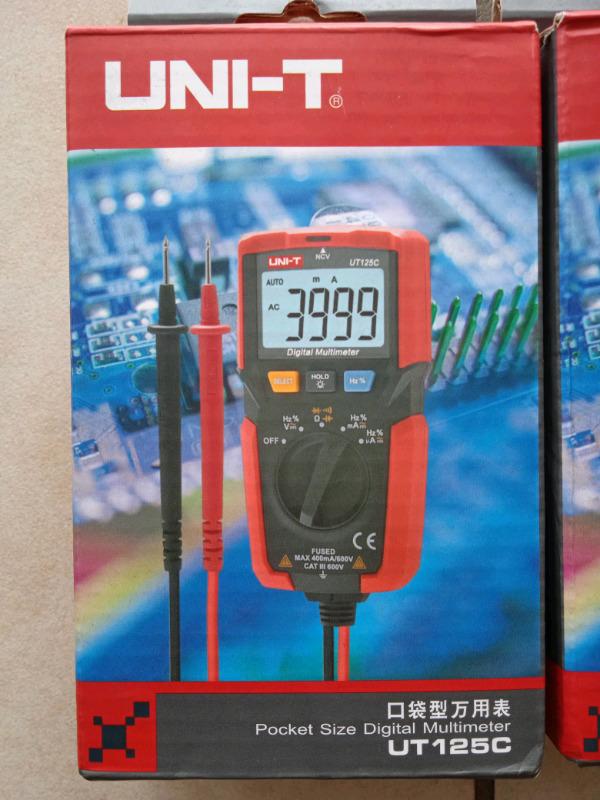 Digital Multimeter- UT125C Uni T