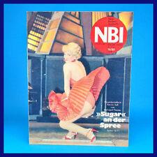 NBI 14/1989 - Maxhütte Jänschwalde Phobos 2 Metropol-Theater - DDR-Zeitschrift