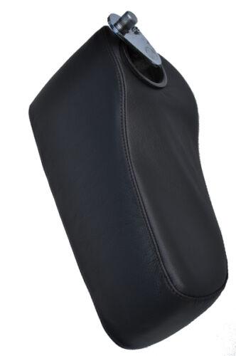Fits MERCEDES W126 noir broderie cuir accoudoir couverture