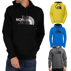 North-Face-Homme-Peak-doublees-en-polaire-a-capuche-Overhead-Pullover-Pull-a-Capuche-S-XL