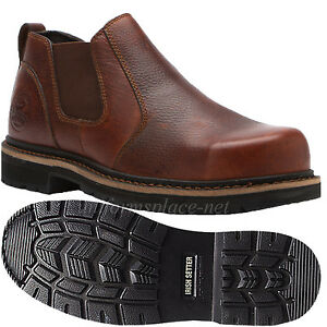 Men Boots Red Wing Irish Setter Cass Steel Toe Romeo Slip-On ...