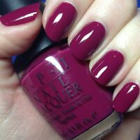 New OPI South Beach **MIAMI BEET** Raspberry Red Classic Nail Polish Lacquer B78