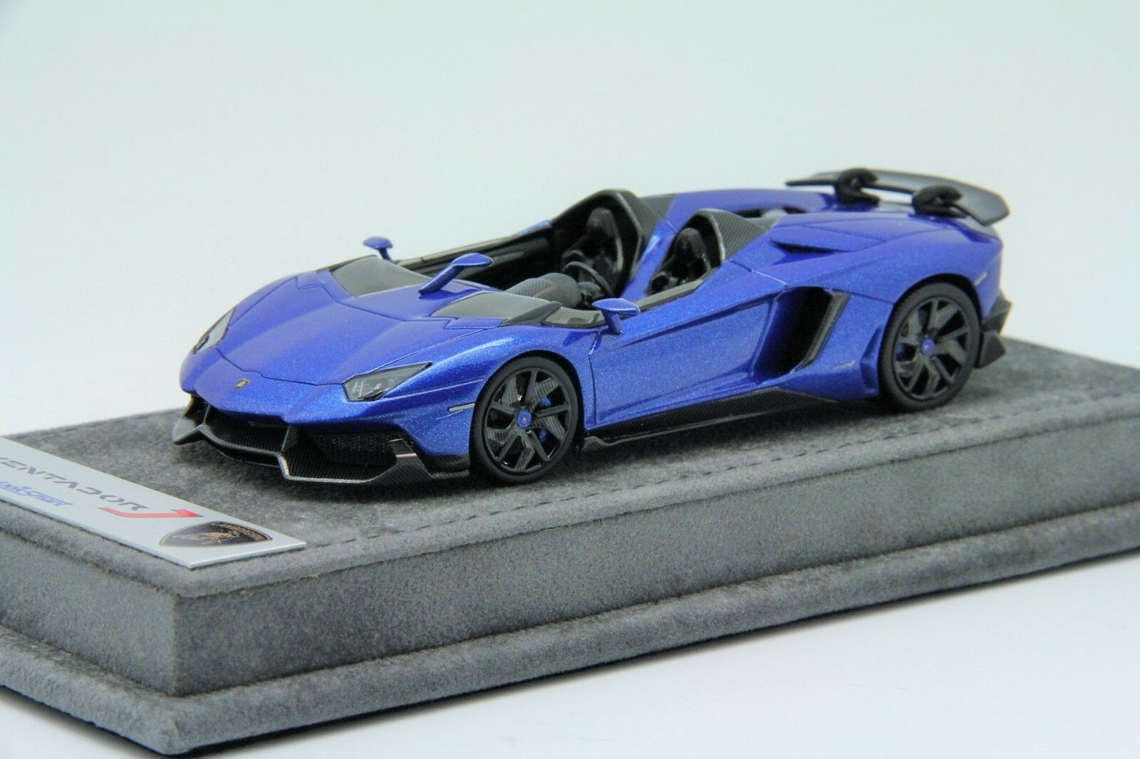 1 43 Looksmart Lamborghini Aventador J Monterery bluee Free Shipping  MR BBR
