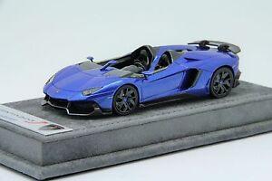 1-43-Looksmart-Lamborghini-Aventador-J-Monterery-Blue-Free-Shipping