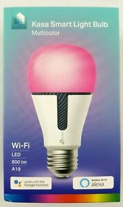 TP-Link-Kasa-Smart-Multicolor-Wi-Fi-LED-Light-Bulb-A19-KL130