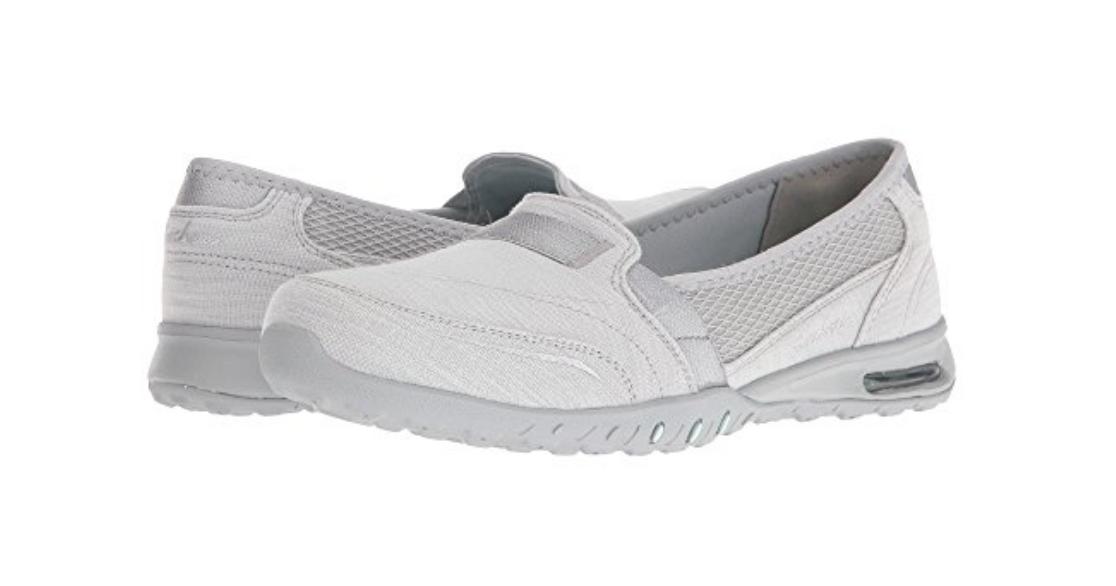 NEW SKECHERS EASY AIR SLIP ON FREE LOAFER Schuhe Damenschuhe 8.5 FREE ON SHIP GRAY abdec9
