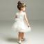 Newborn Baby Girls Christening//Birthday//Prom//Festival White Party Princess Dress