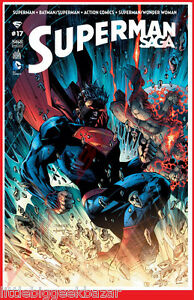 SUPERMAN-SAGA-17-Mai-2015-Wonder-Woman-Batman-Action-Urban-Dc-Comics-NEUF
