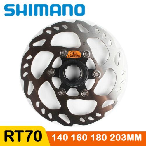Shimano 105 SLX SM RT70 Disc Brake Rotor Center Lock 140 160 180 203mm Road Bike