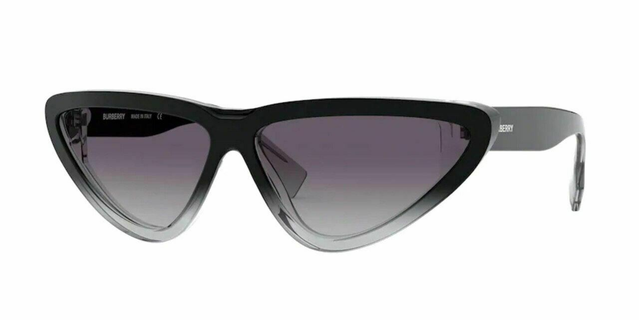 BURBERRY BE4292 38058G Black Cat Eye Women's 65 mm Sunglasses