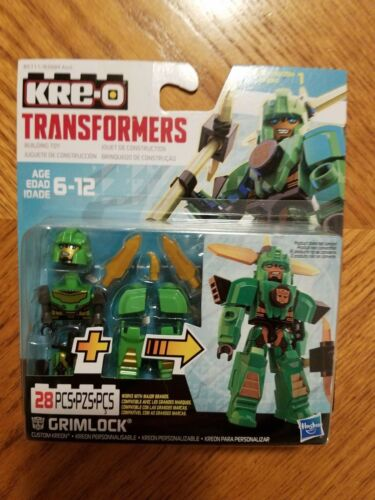 KreO Transformers Cus Kreon Armor Up GRIMLOCK Green Armor New Sealed