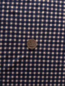 Navy Blue Print Stretch Viscose Lycra jersey fabric Material 162cm wide