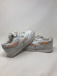 62cb9a649 Vintage 80s Reebok White Pink Mens 5.5 Women's 7 Light Up Sneakers ...