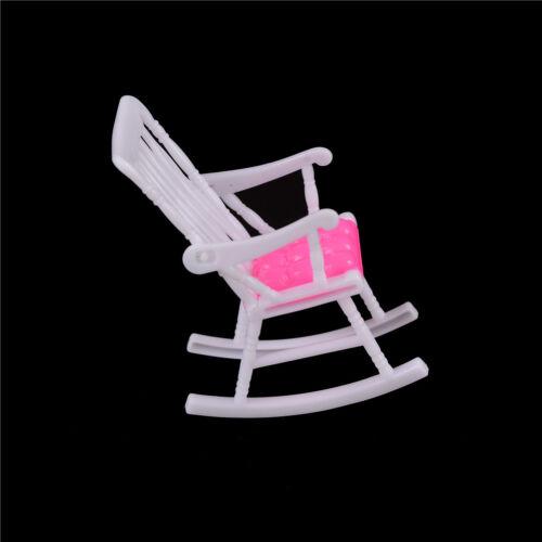 Miniature Doll Rocking Chair Accessories For Doll  Room Dollhouse DecorRandom SN