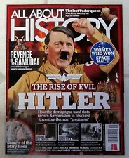 ALL ABOUT HISTORY Jan 2017 RISE OF EVIL HITLER Women Space Race MARY ROSE Silk
