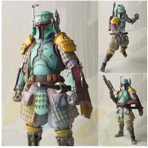 STAR-WARS-Boba-Fett-RONIN-TAISHO-Figura-de-accion-juguetes-en-caja-PVC