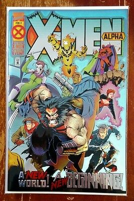 X-Men AGE OF APOCALYPSE Alpha 1 Foil Variant Cover NM first appearances