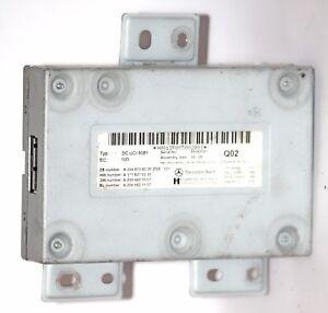 MERCEDES-BENZ-C200-C230-C220-C300-C63-AMG-W204-Media-Unidad-De-Control