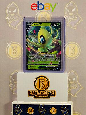 Ultra Rare NM-Mint Pokemon Celebi V 001//202 English