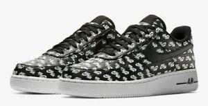 Nike Air Force 1 Low Logos Pack Black   AH8462 001